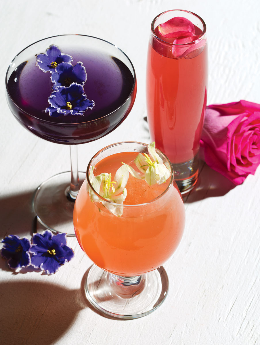 Flowery cocktails for spring izmirmasajfo