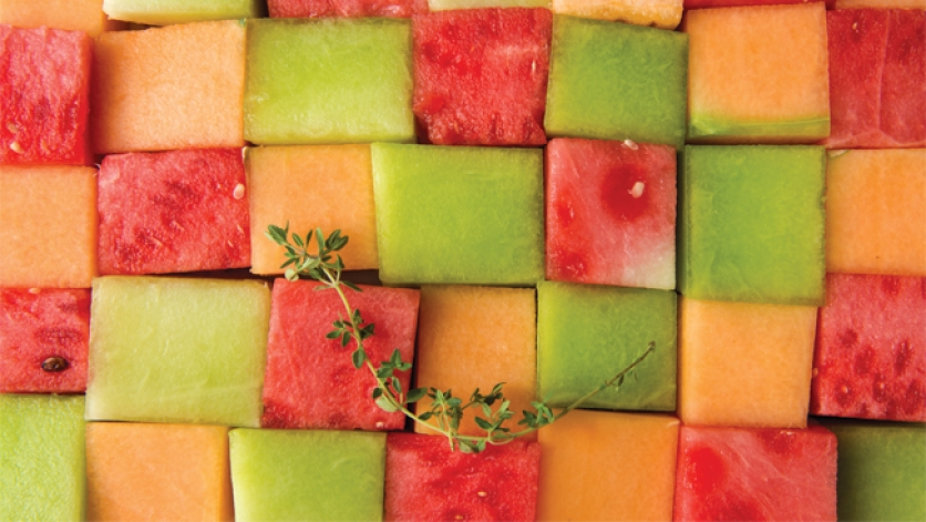 Watermelon, Honeydew and Cantaloupe