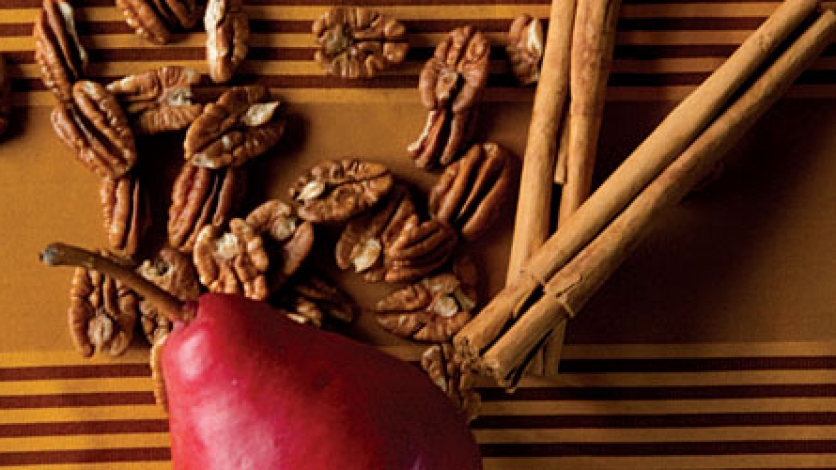 Pears, Cinnamon and Pecans