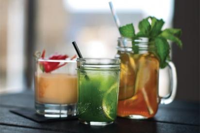 Mocktails at Harvard & Highland