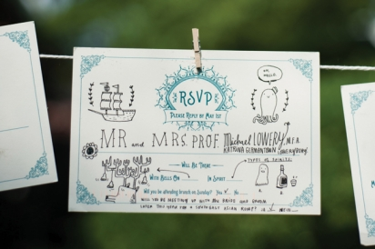 Guests' RSVP Cards