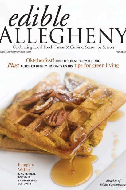 Edible Allegheny October/November 2009, Issue 10 Cover