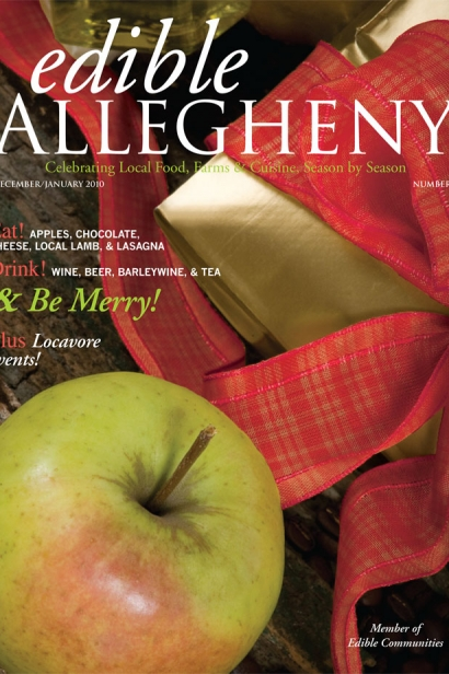Edible Allegheny December 2009/January 2010, Issue 11 Cover