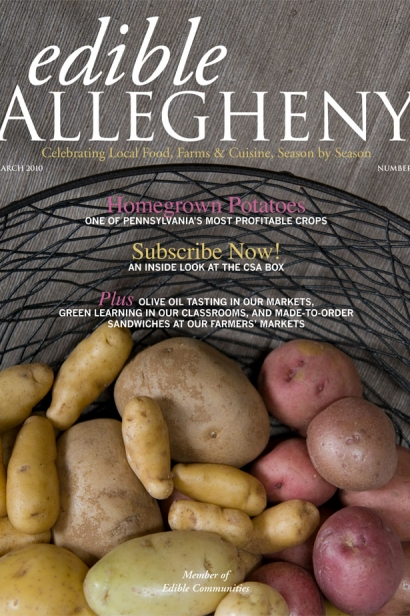 Edible Allegheny March 2010, Issue 12 Cover