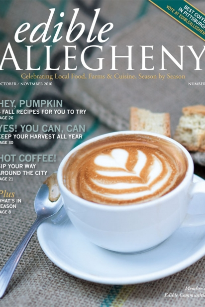 Edible Allegheny October/November 2010, Issue 16 Cover