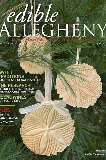 Edible Allegheny December 2010 / January 2011, Issue 17 Cover