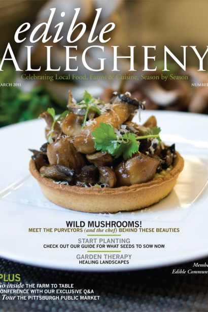 Edible Allegheny March 2011, Issue 18 Cover