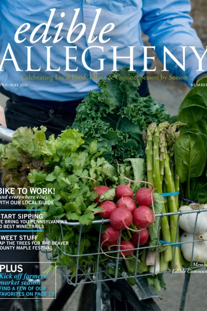 Edible Allegheny April/May 2011, Issue 19 Cover