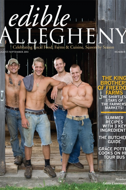 Edible Allegheny August/September 2011, Issue 21 Cover