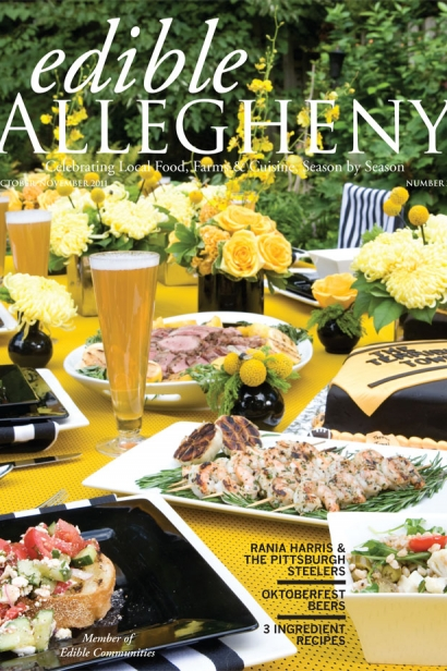 Edible Allegheny October/November 2011, Issue 22 Cover