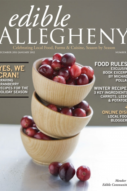 Edible Allegheny December 2011 / January 2012, Issue 23 Cover