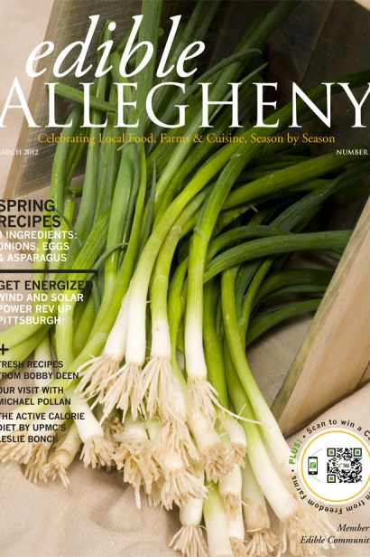 Edible Allegheny March 2012, Issue 24 Cover