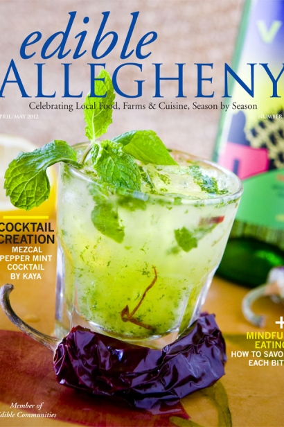 Edible Allegheny April/May 2012, Issue 25 Cover