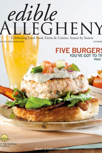 Edible Allegheny August/September 2012, Issue 27 Cover