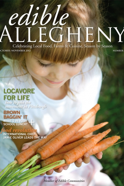 Edible Allegheny October/November 2012, Issue 28 Cover