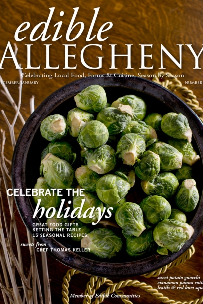Edible Allegheny December 2012 / January 2013, Issue 29 Cover
