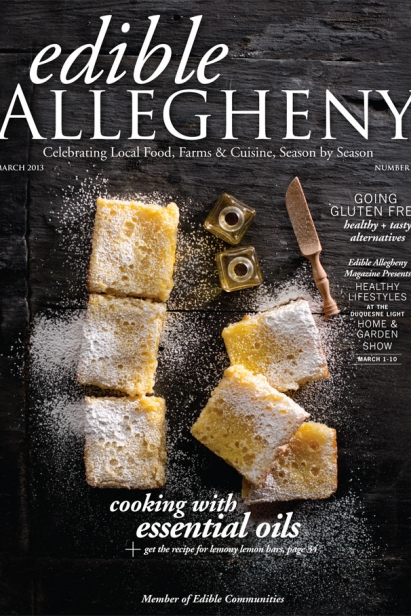 Edible Allegheny March 2013, Issue 30 Cover