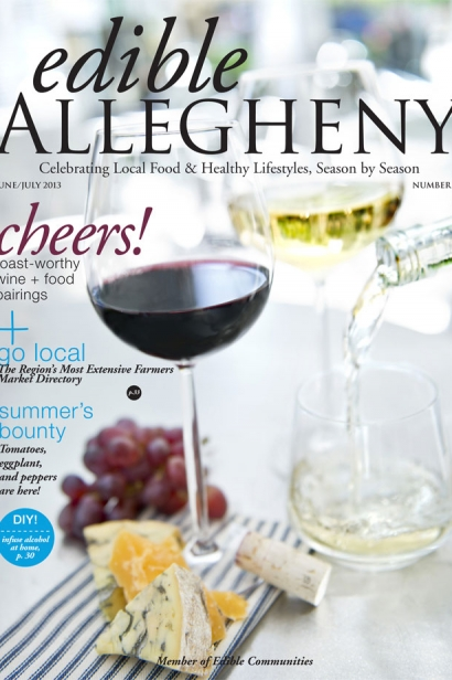 Edible Allegheny June/July 2013, Issue 32 Cover