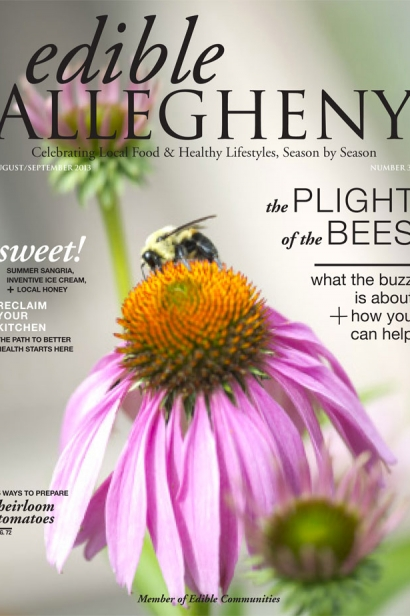 Edible Allegheny August/September 2013, Issue 33 Cover