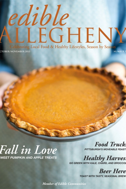 Edible Allegheny October/November 2013, Issue 34 Cover