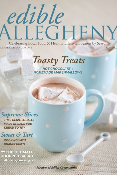 Edible Allegheny December 2013 / January 2014, Issue 35 Cover