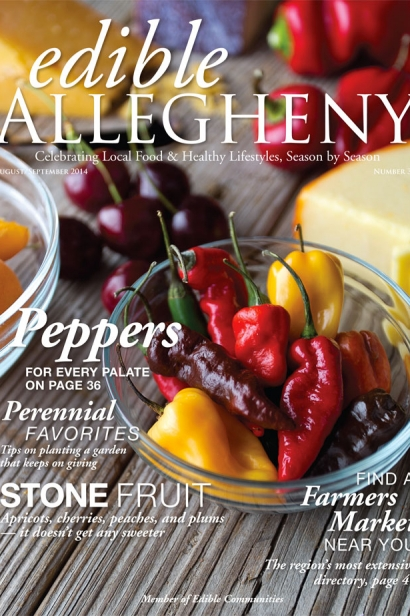 Edible Allegheny August/September 2014, Issue 39 Cover