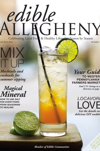 Edible Allegheny June/July 2014, Issue 38 Cover