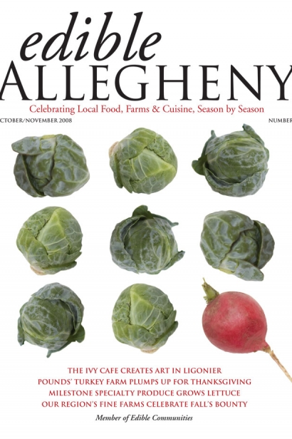 Edible Allegheny October/November 2008, Issue 4 Cover