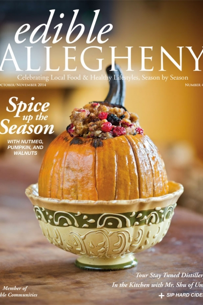 Edible Allegheny October/November 2014, Issue 40 Cover