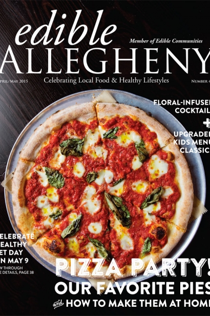 Edible Allegheny April/May 2015, Issue 43 Cover