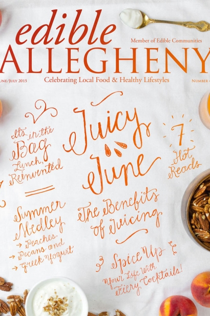 Edible Allegheny June/July 2015, Issue 44 Cover