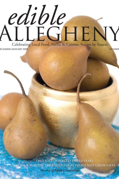 Edible Allegheny December 2008/January 2009, Issue 5 Cover