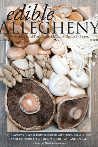 Edible Allegheny March 2009, Issue 6 Cover