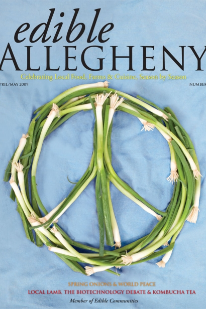 Edible Allegheny April/May 2009, Issue 7 Cover