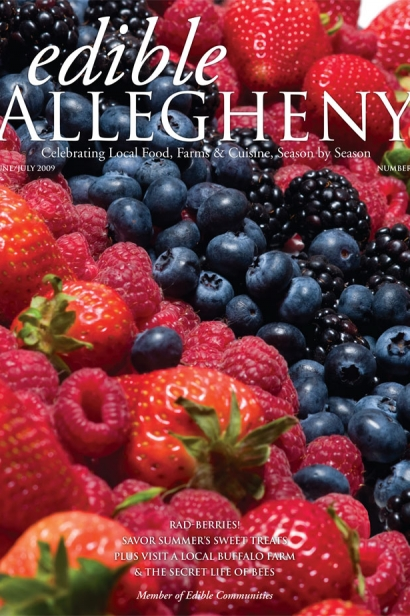 Edible Allegheny June/July 2009, Issue 8 Cover