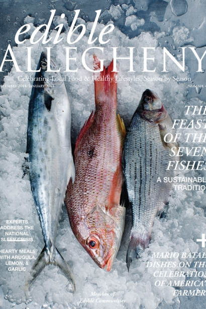Edible Allegheny December/January 2015, Issue 41 Cover
