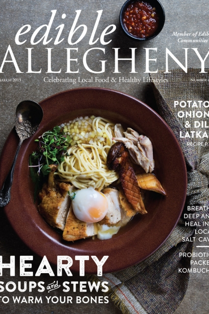 Edible Allegheny March 2015, Issue 42 Cover