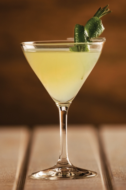 Ginger Lime Gimlet from Lidia's Italy in Pittsburgh