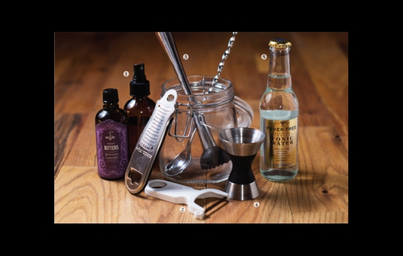 Bar tools for craft cocktails