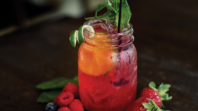 Lavender-Berry Limeade Recipe from Bistro 19