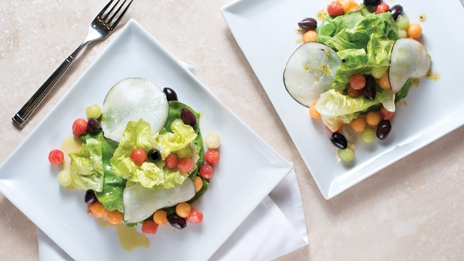 Summer Salad with Melon