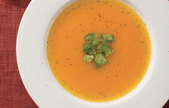 Japanese pumpkin soup recipe.