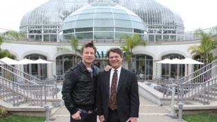 Jamie Oliver and Richard Piacentini