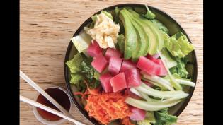 Tuna Poki Chopped Salad