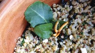 Bulgur Salad with Fresh Parsley & Mint
